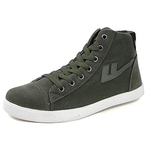 Warrior回力新款简约男式帆布潮鞋 时尚中帮休闲运动鞋WXY(L)-3563