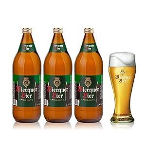 乐喜酒汇 威格啤酒 西班牙原装进口啤酒 大麦 爽口淡色啤酒 3*1l