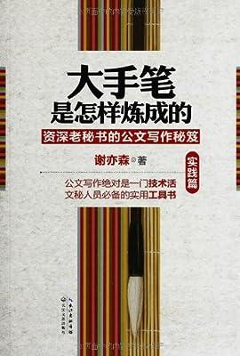 大手笔是怎样炼成的:资深老秘书的公文写作秘笈.pdf