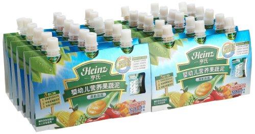 Heinz 亨氏 一段婴幼儿营养果蔬泥 234g*12包