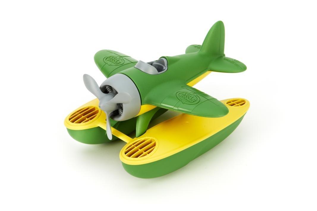 green toys 水上飞机 绿色 9× 9.5 ×6英寸 - 玩具
