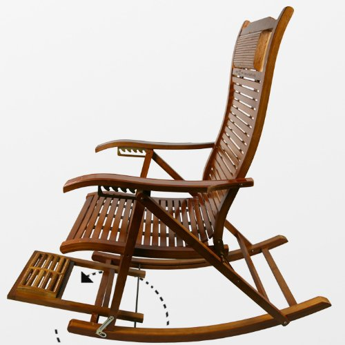 摇椅手绘三视图