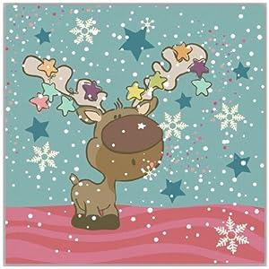 light art 轻艺术 可爱童趣 白色圣诞 a款 可爱清新手绘图片儿童海报