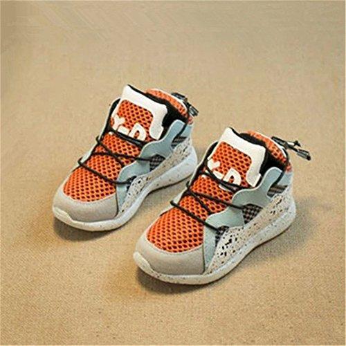 喜安贝 网鞋童鞋春秋款宝宝鞋子1-2-3男童鞋儿童休闲鞋女童运动鞋婴儿