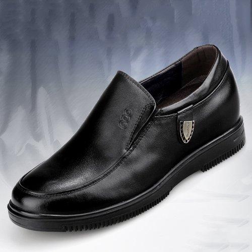 Gog 高哥 内增高6.5厘米商务休闲鞋真皮男士皮鞋隐形增高91403