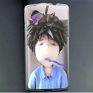 壳 LG E980 手机壳 保护套 手机外壳 (瞌睡男)-