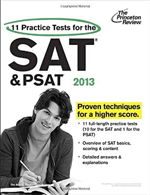 11 Practice Tests for the Sat and PSAT 2013.pdf