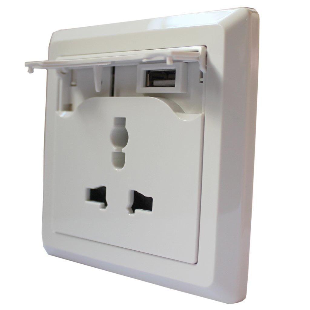 SX东升祥USB充电插座手机DSX-056墙壁充iphone3gsitunes图片