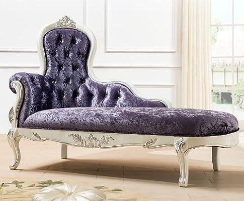 osld 欧斯莱迪 新古典欧式雕花贵妃榻 宫廷贵妃沙发椅
