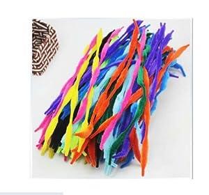 与同办公 智慧树 儿童创意玩具 diy手工材料 4花条扭扭棒 毛绒条 毛根