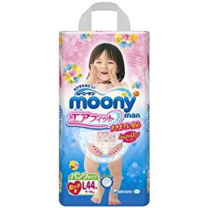 促销活动:Moony拉拉裤,女款L,XL,XXL均为109元