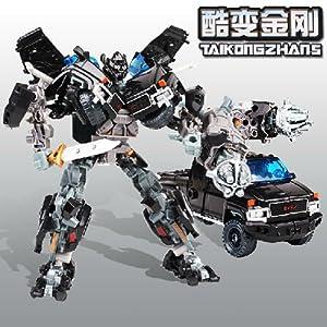 变形金刚 百变金刚之横炮 汽车模式 机器人双模式0.4小组,变形金刚