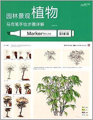 园林景观植物马克笔手绘步骤详解