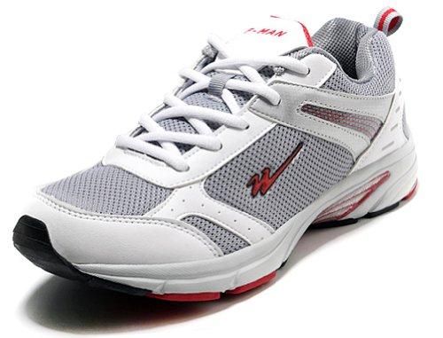 Double Star 双星 新款网面橡胶大底情侣款男/女跑步鞋 231261