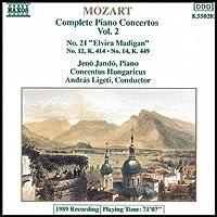 进口CD:莫扎特第12,14,21号钢琴协奏曲