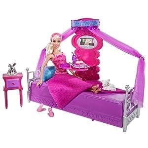 美行$26,美泰Mattel Barbie芭比娃娃 T8015 卧室套装¥89
