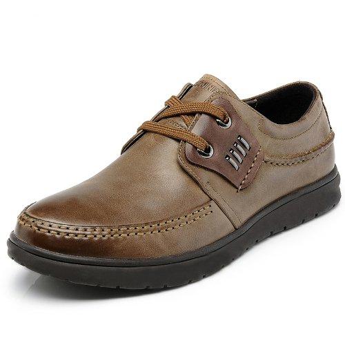 Fuguiniao 富贵鸟 英伦时尚奢华品质男鞋 柔软真皮舒适商务休闲鞋