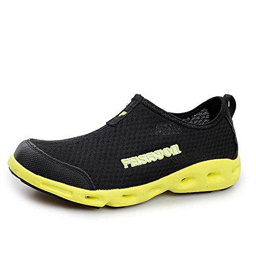 夏季休闲鞋低帮徒步鞋超轻情侣款透气鞋网鞋懒人鞋