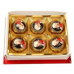Mozart莫扎特巧克力礼盒(6粒装)120g(德国进口