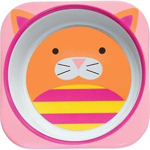 美国skip-hop-可爱动物园餐具餐碗-小猫