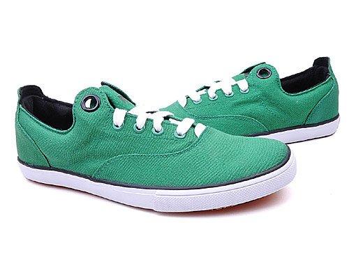 PUMA 彪马 怀旧系列简洁纯色不对称布面舒适轻便休闲鞋 男 帆布鞋 35149712 green