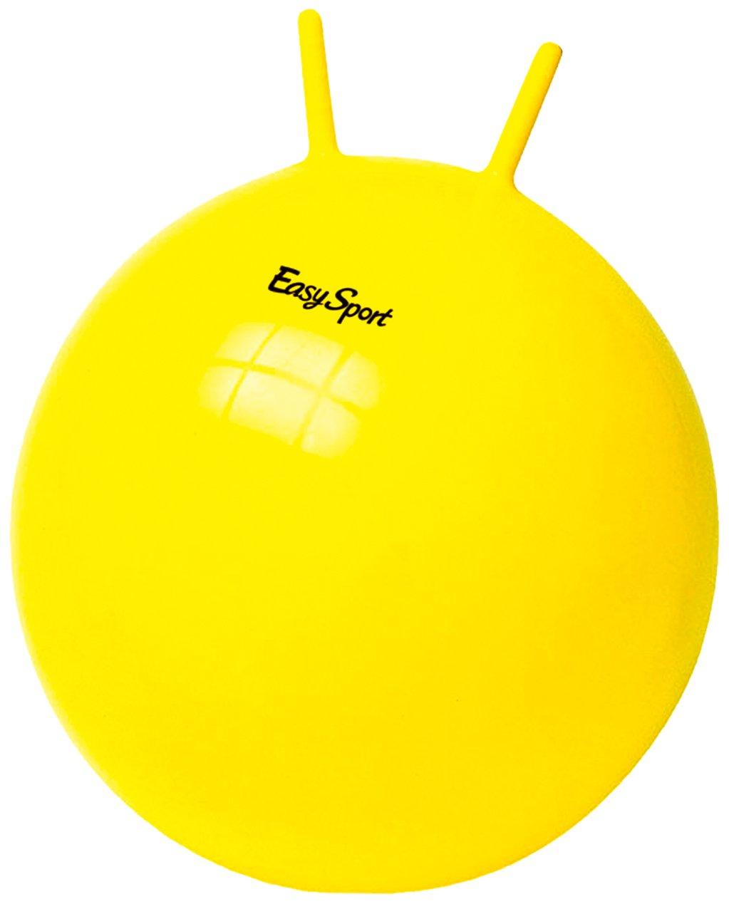 玩具大号手柄球幼儿园健身跳跳球小号50cm羊角球60cm儿童加厚弹跳