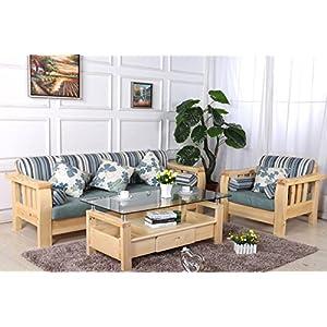 木头布艺沙发