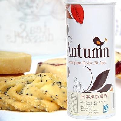 日本抹茶曲奇饼干青岛特产休闲零食特产批发
