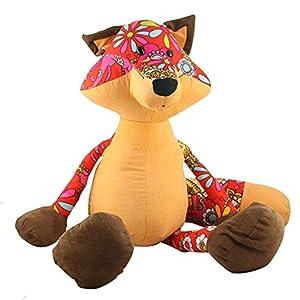 gododo 狐狸 公仔 布艺家居 娃娃 毛绒玩具 儿童玩具