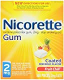 Nicorette 戒烟口香糖