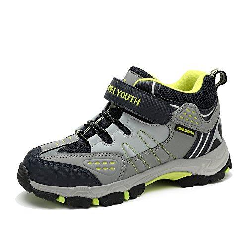 Camel 骆驼 户外登山徒步鞋童鞋 2014年新款减震越野徒步鞋A440260153