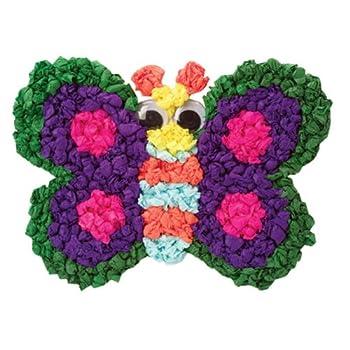 爱丽克丝 手工玩具 纸巾创意-521w  多种彩纸,自由的发挥创意,适合小