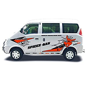 面包车车身广告 面包车创意车身广告 面包车创意车身广告高清图片