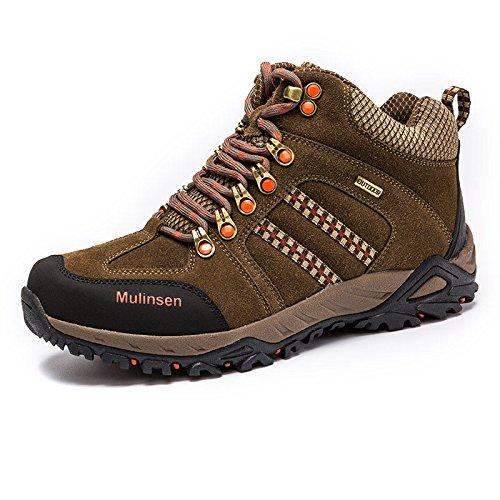 MULINSEN 木林森 男士登山鞋防滑透气户外休闲鞋高帮鞋户外男鞋徒步鞋