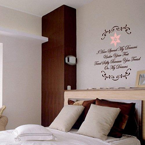 新饰线 梦想 墙贴纸 卧室床头浪漫电视墙贴画欧式花边