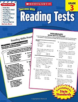 Scholastic Success With Reading Tests, Grade 3.pdf