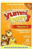 Yummi Bears甜咪小熊 儿童果味软糖(含维生素C)120g(60粒)(美国进口)-图片