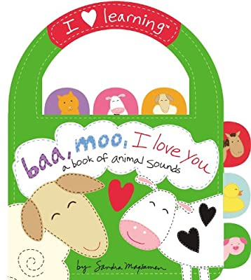 Baa, Moo, I Love You!: A Book of Animal Sounds.pdf