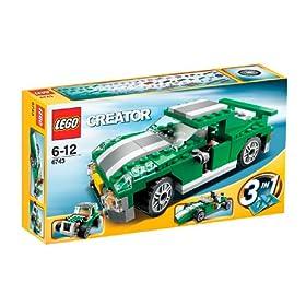 正品LEGO乐高创意百变组-街头赛车6743,