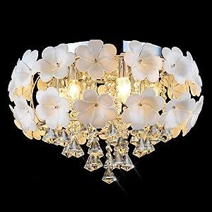 小号(01450*h350mm)欧式led水晶吊灯现代