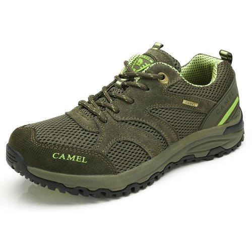 Camel 骆驼 户外鞋 2014春夏新品 男款徒步鞋 登山鞋 网面透气 运动男鞋 82330618