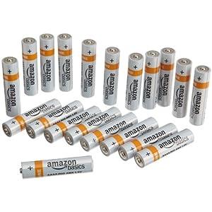 AmazonBasics 亚马逊倍思 AAA(7号)碱性电池(20节装)