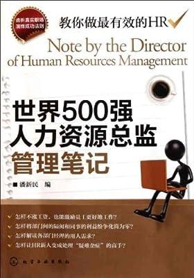 世界500强人力资源总监管理笔记.pdf