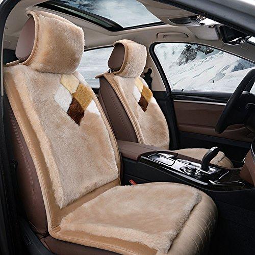 方匀 2016款高档羊毛汽车坐垫 冬季保暖羊毛绒汽车座垫 正宗羊毛 材质