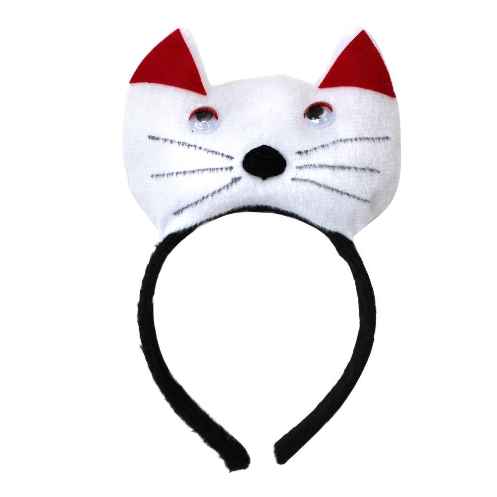 幼儿园动物头饰道具演出动物头箍发卡发箍