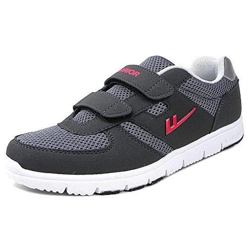 Warrior回力情侣款超轻跑步鞋 魔术粘扣男女款运动休闲鞋WL-3247