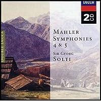 进口CD:MAHLER SYM.4&5