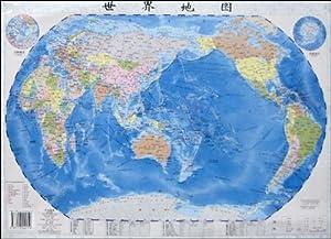 博目地球仪:20cm政区灯光地球仪图片