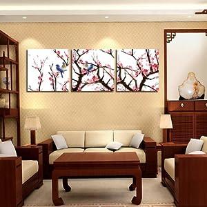中式风格客厅装饰画沙发背景墙挂