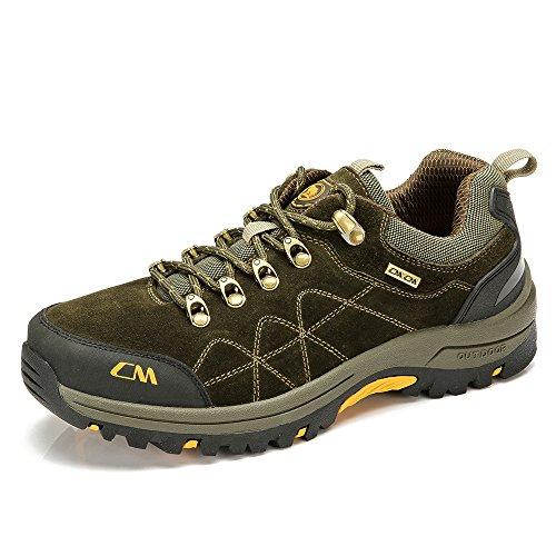 骆驼牌 2014秋冬新款户外登山鞋男鞋 户外低帮徒步鞋男防滑耐磨W432330045